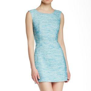 Milly Melange Tweed Shift Dress